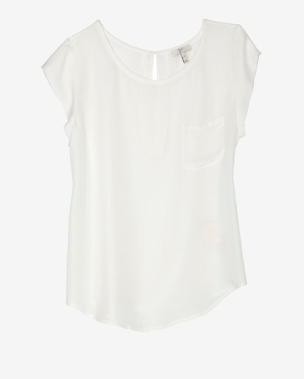 Joie Silk Pocket Tee