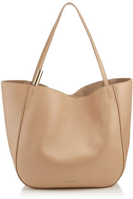 Jimmy Choo STEVIE TOTE Nude Nappa Leather Tote Bag
