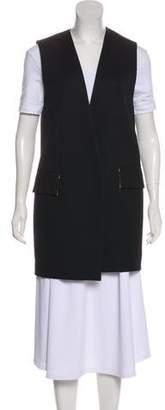 Roksanda Wool-Blend Longline Vest
