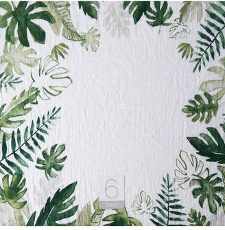 Little Unicorn Tropical Leaf Photo Blanket
