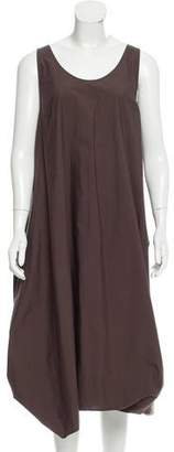 Hache Gathered Midi Dress w/ Tags
