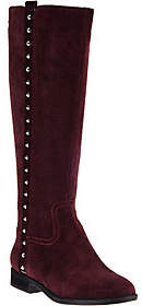 Marc Fisher Suede Tall Shaft Boots with Studs -