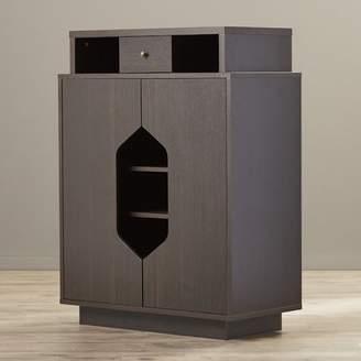 Wade Logan Redland Redline 20-Pair Shoe Storage Cabinet