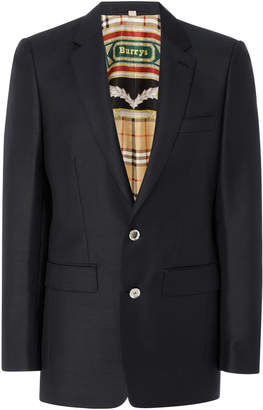 Burberry Lined Sitwell Suit Jacket