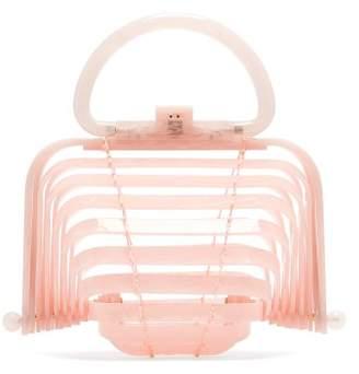 Cult Gaia Lilleth Clutch Bag - Womens - Light Pink