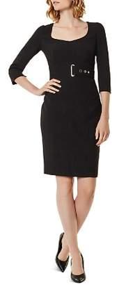 Karen Millen Corset Belt Detail Sheath Dress