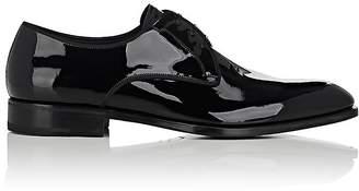 Salvatore Ferragamo Men's Charles Patent Leather Bluchers