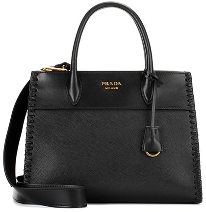 pradaPrada Paradigme saffiano leather handbag