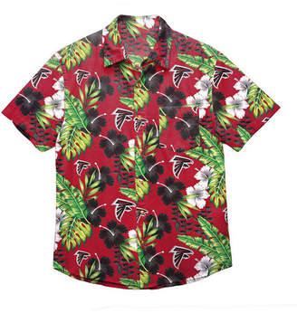 Forever Collectibles Men Atlanta Falcons Floral Camp Shirt