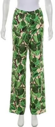 Dolce & Gabbana Silk Printed Pant