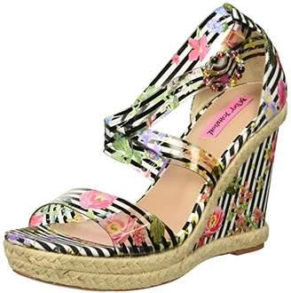Betsey Johnson Women's Fraser Wedge Sandal