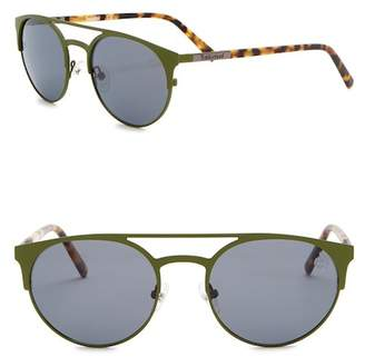 0534b6942d ... Timberland Polarized 54mm Round Sunglasses