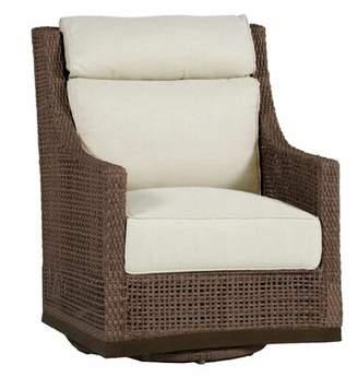 Summer Classics Peninsula Swivel Glider Chair with Cushion Summer Classics