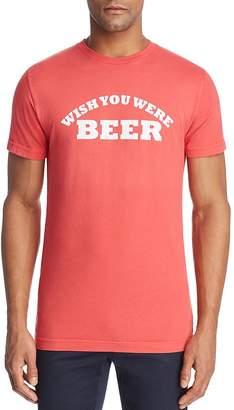 Sub Urban Riot Sub_Urban Riot Wish You Were Beer Crewneck Tee
