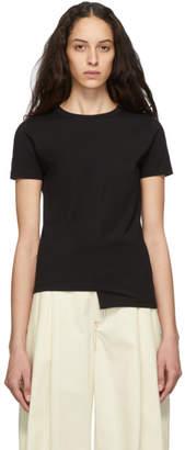 Loewe Black Asymmetric Anagram T-Shirt