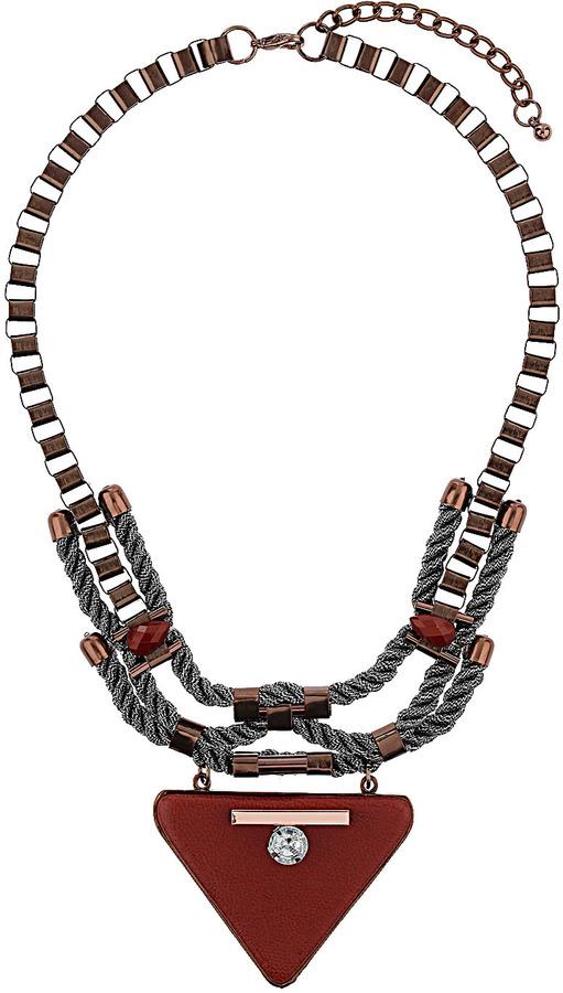 Topshop Triangle Chain Collar