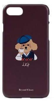 [Unisex]ILP Logo I-Phone 8 Case Ver.1 Brown