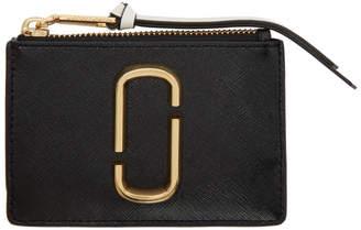 Marc Jacobs Black Zip Multi Wallet