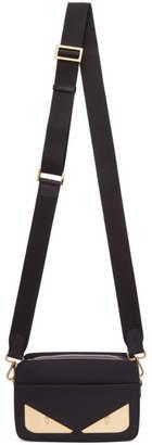Fendi Black 'Bag Bugs' Shoulder Clutch