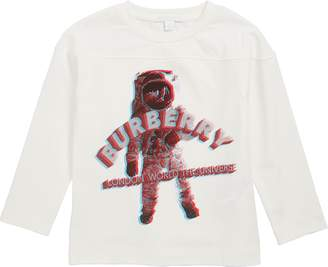 Burberry 3D Spaceman Graphic T-Shirt
