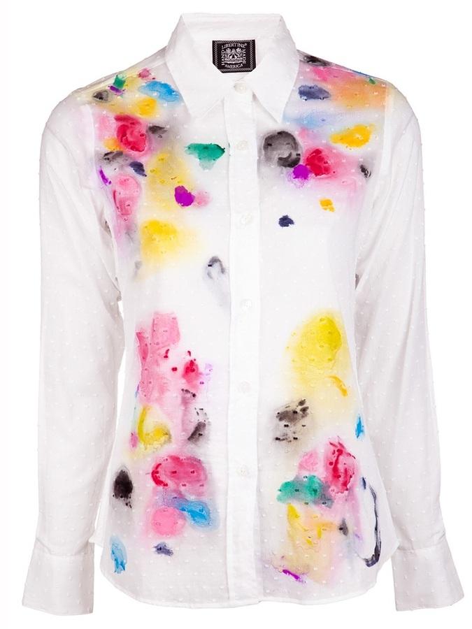 Libertine Hand painted shirt