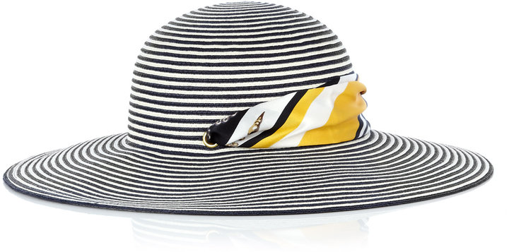 Eugenia Kim Honey Striped Toyo Sun Hat