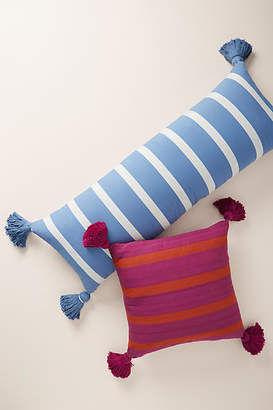 Anthropologie Striped Wilda Pillow