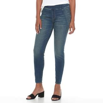 Apt. 9 Women's Curvy Pull-On Skinny Jeans