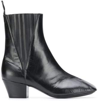 Lemaire square toe ankle boots