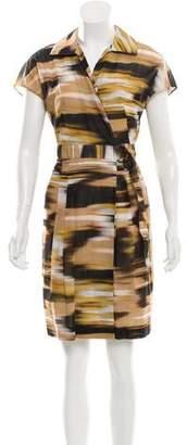 Akris Punto Fit & Flare Printed Dress