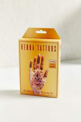 Urban Outfitters Henna Kit