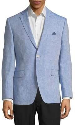 Black & Brown Black Brown Jack Slim-Fit Blazer Jacket