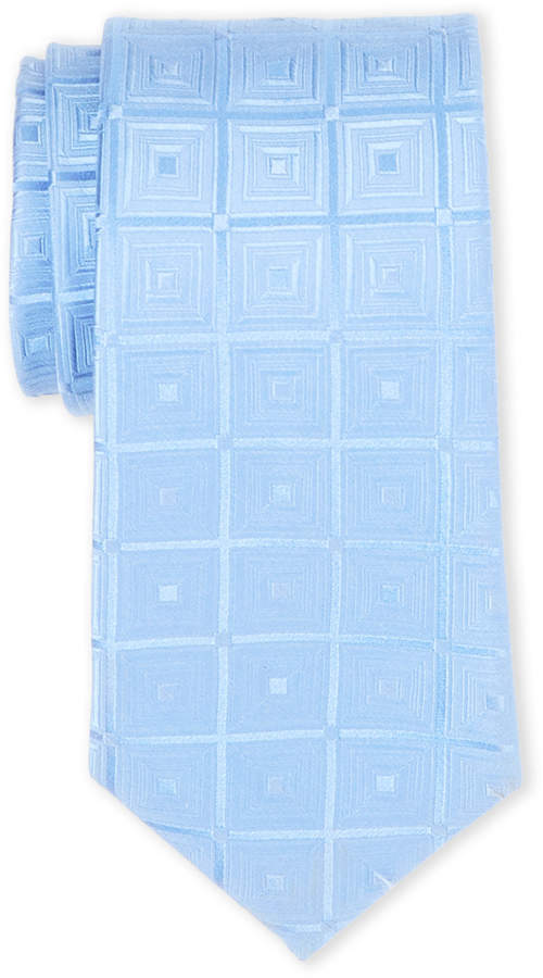 Michael Michael Kors Blue Total Squares Silk Tie