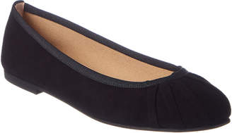 French Sole Dionne Suede Flat