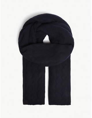 LOU DUNGATE Esmond cashmere blanket scarf