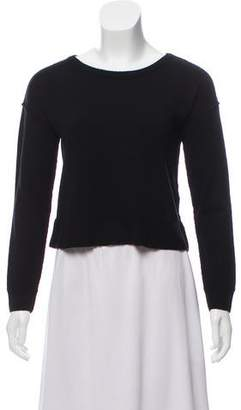 Alice + Olivia Wool Scoop Neck Sweater