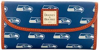 Dooney & Bourke NFL Seahawks Continental Clutch