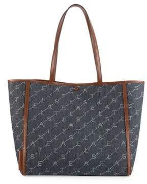 6ddcc2fbc744 Stella McCartney Women's Monogram Tote Bag - Navy