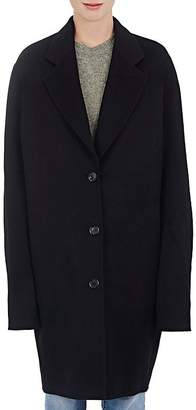 Acne Studios Women's Landi Brushed Wool-Cashmere Melton Coat