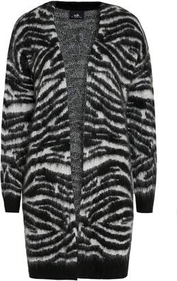 Wallis Monochrome Animal Print Cardigan