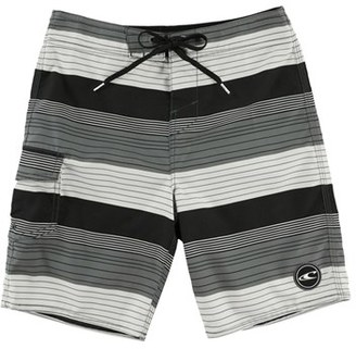 Boy's O'Neill Santa Cruz Stripe Board Shorts $35 thestylecure.com
