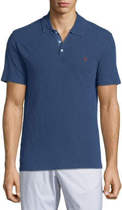 Original Penguin Men's Geo-Dot Embroidered Polo Shirt
