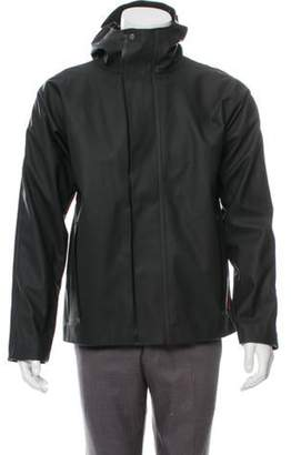 Hunter Hooded Zip-Up Jacket black Hooded Zip-Up Jacket