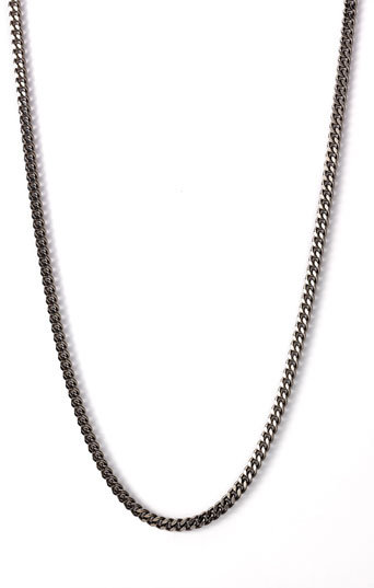 Nordstrom Extra Long Flat Chain Necklace