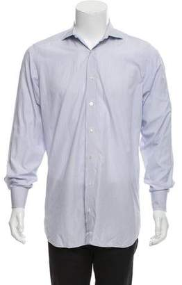 Drakes Drake's Woven Button-Up Shirt
