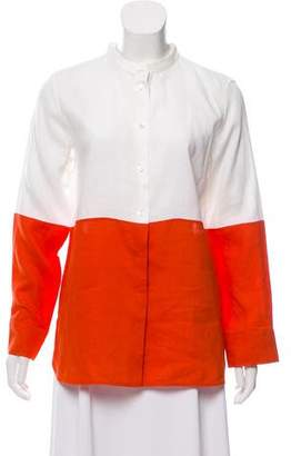 Max Mara 'S Long-Sleeve Button-Up Top