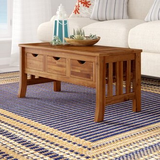 Beachcrest Home Rothstein Coffee Table with Storage