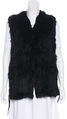 Love Token Knitted Fur Vest