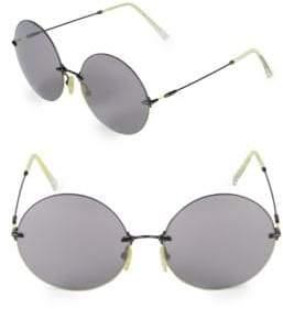 Saint Laurent 60MM Circle Sunglasses