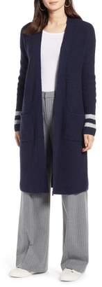 011c6fbe3d27 Halogen Long Open Front Cardigan (Regular   Petite)